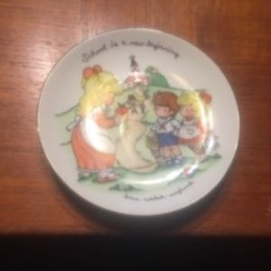 1986 School is a New Beginning Collector Plate -64